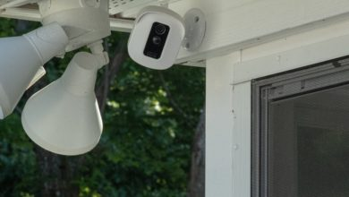 Photo of Outside Hidden Home Security Cameras