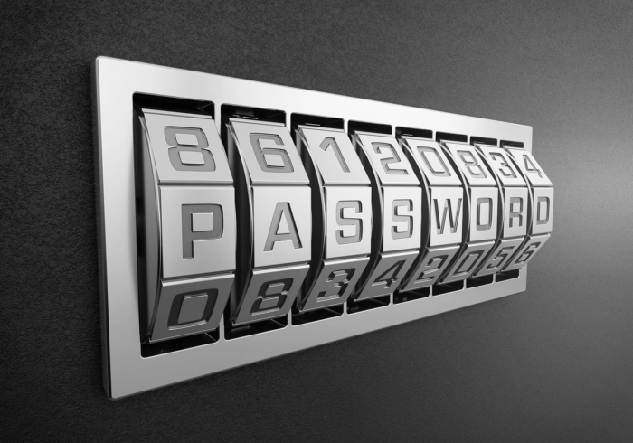 Double security with password and key